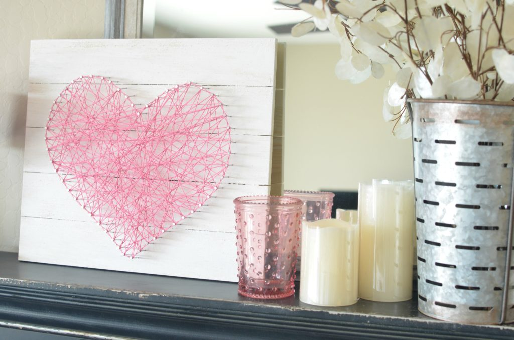 Valentines Heart String art
