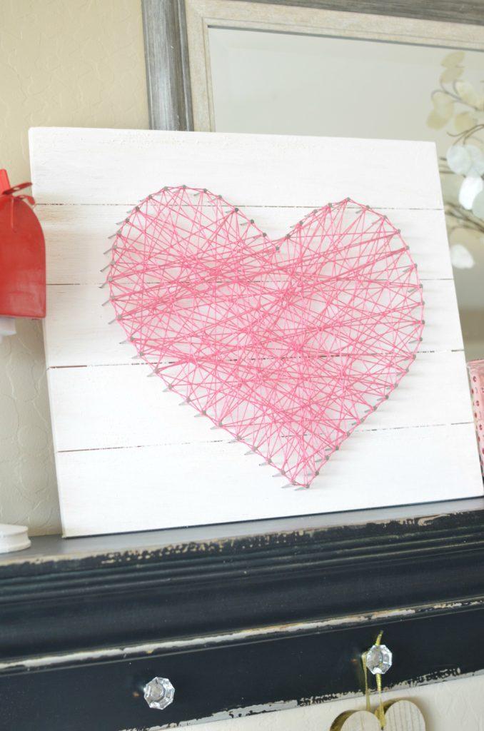 Valentines String Art