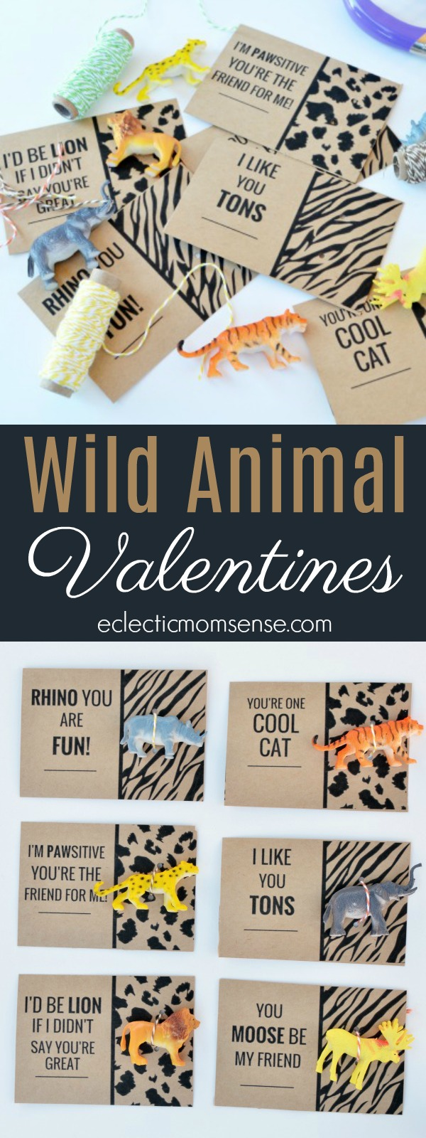 wild animal valentines