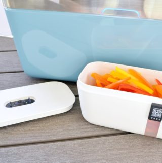 vacuum food storage app enabled containers