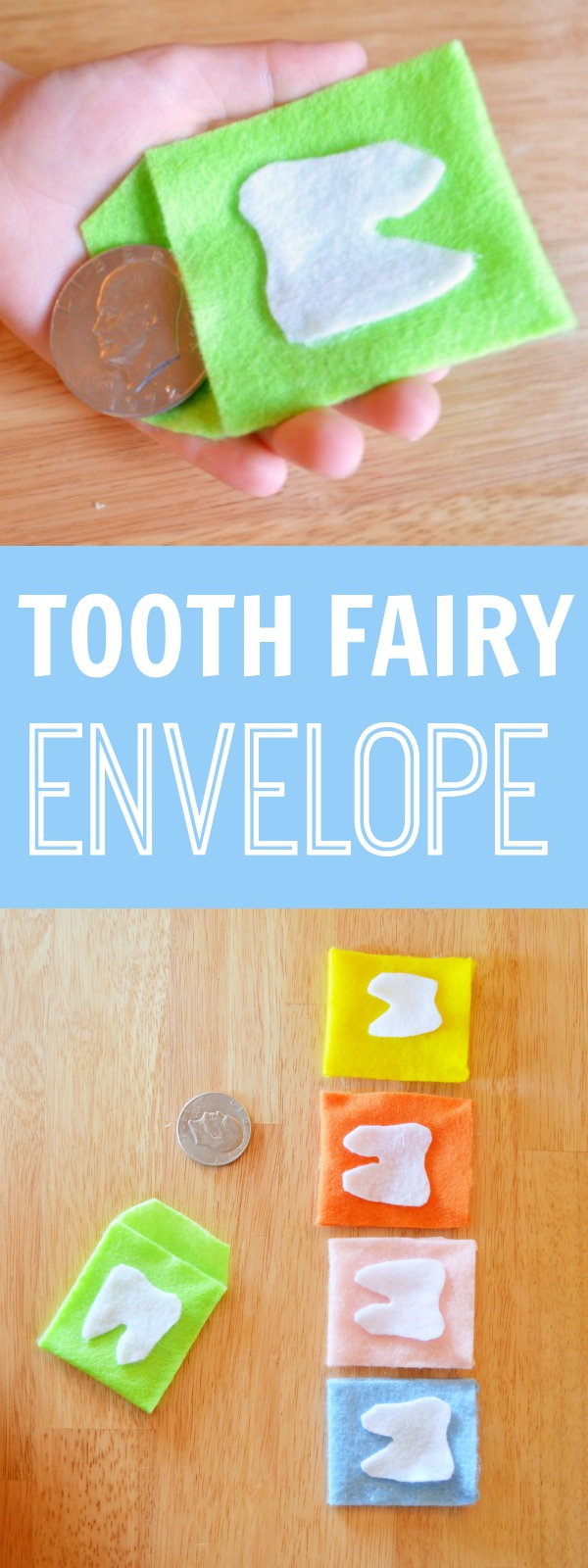 Tooth Fairy Envelope | Easy DIY