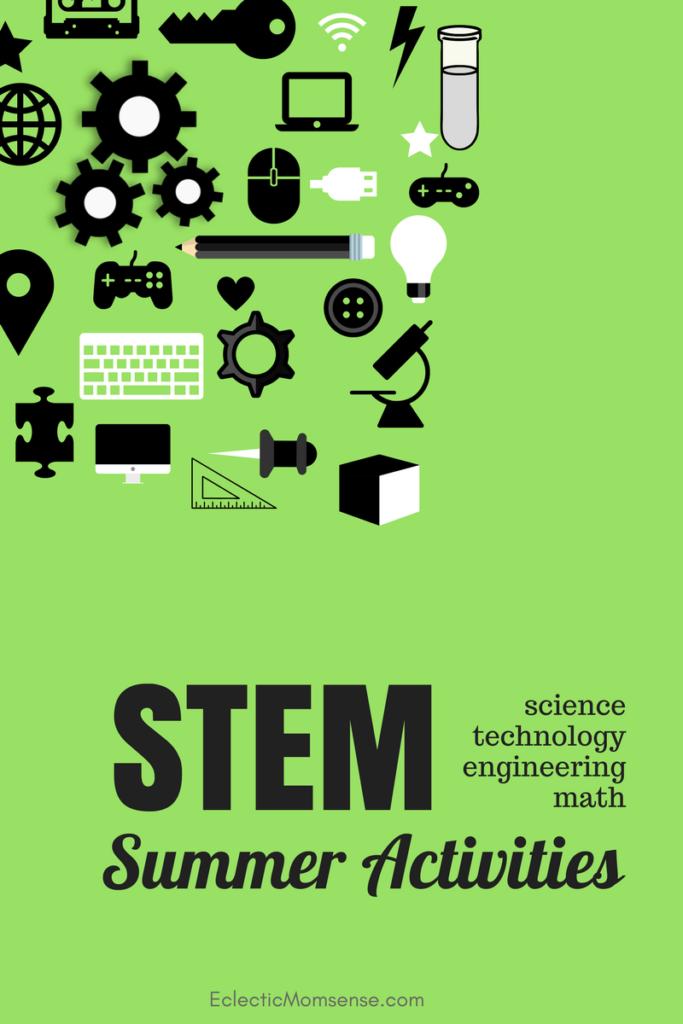STEM summer activities