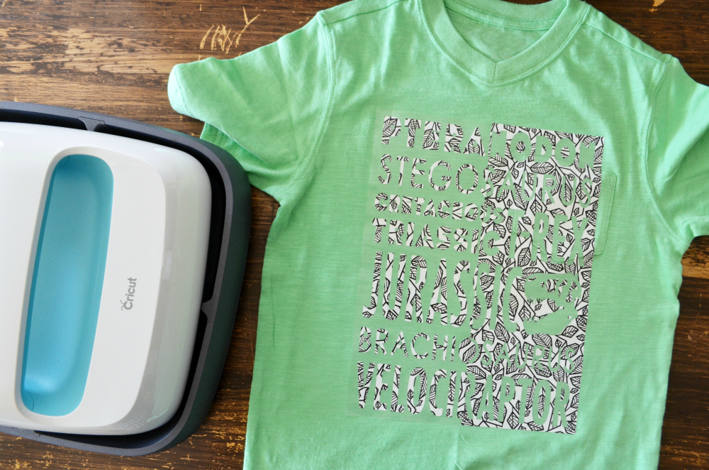 diy custom t shirt with cricut patterned iron on eclectic momsense