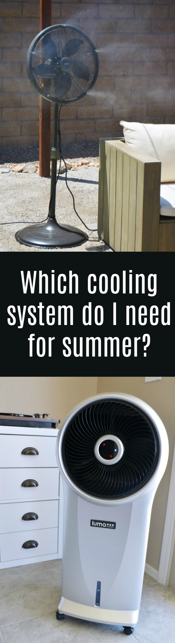 Tips for Keeping Cool This Summer | Evaporative Cooler or Misting Fan, which is best for your summer cooling needs?
