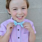 DIY Boys Bowtie with Cricut Maker & Simplicity