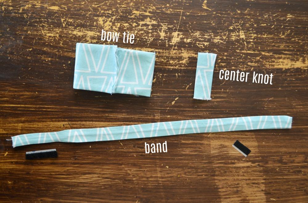 boys bow tie parts