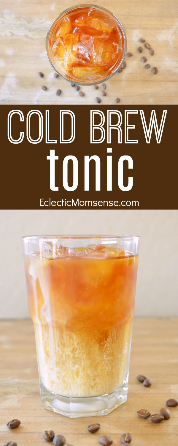 Cold Brew Tonic- Simple, delicious, and refreshing recipe .