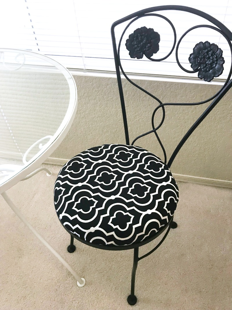 cafe chair makeover