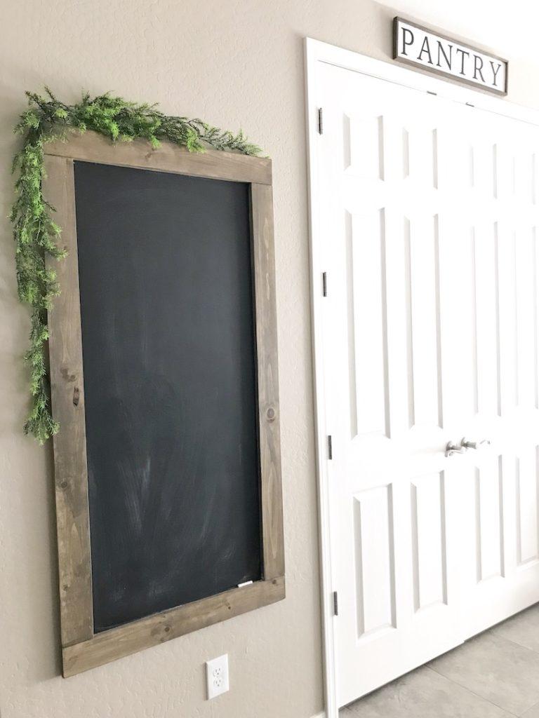 diy Oversized Rustic Chalkboard