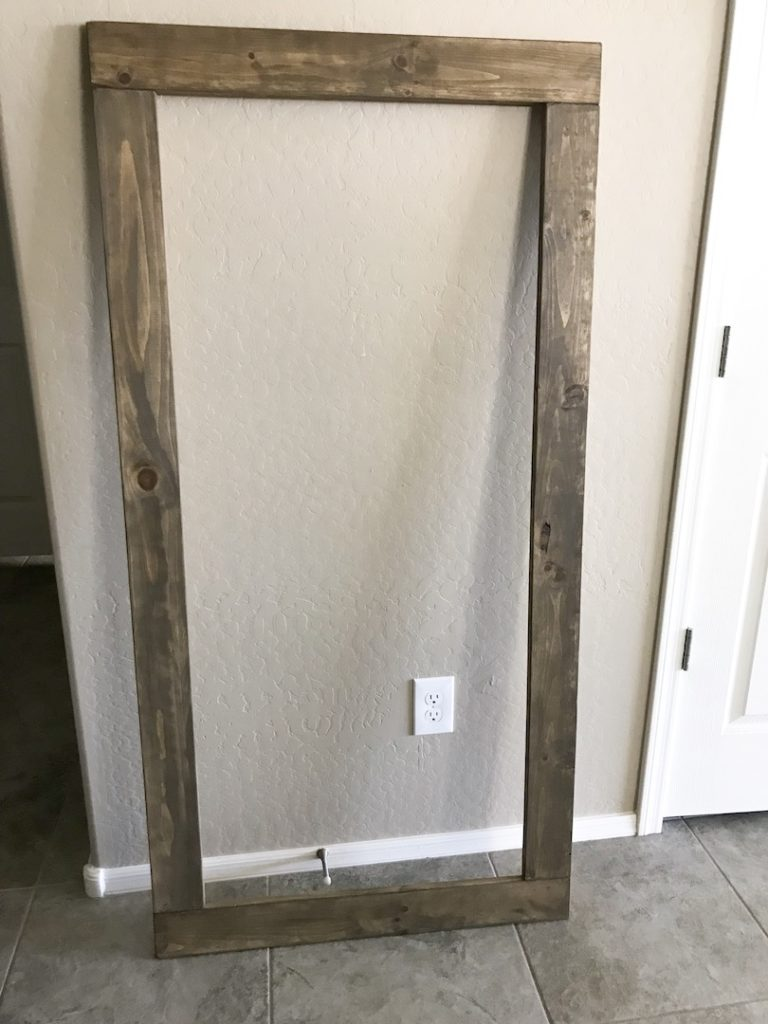 Oversized Rustic Chalkboard frame